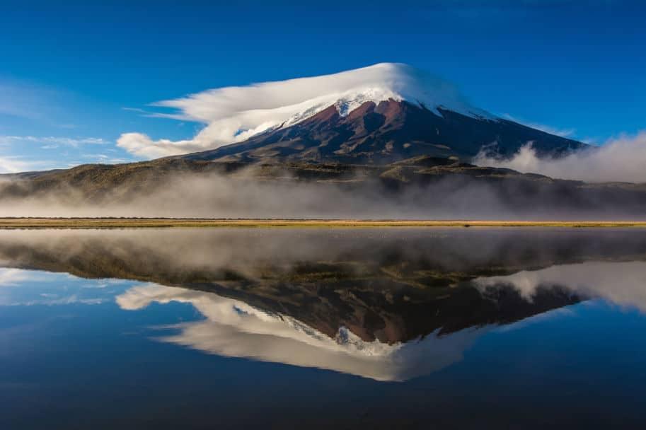 Vulcao Cotopaxi no Equador America do Sul