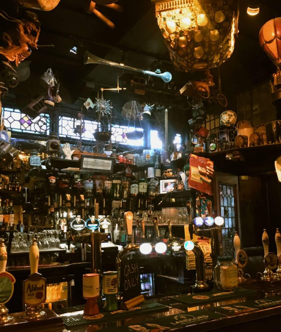 cask ales pub ingles
