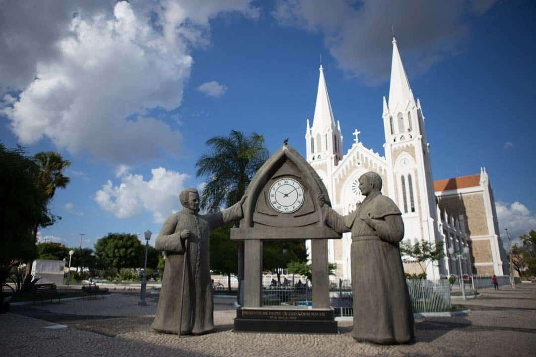 Catedral de Petrolina e centro da cidade