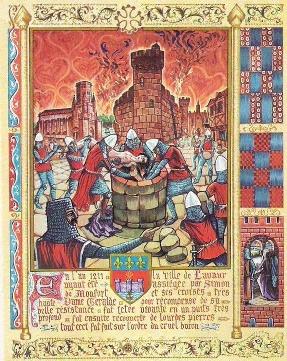 execucao dos cataros na cruzada