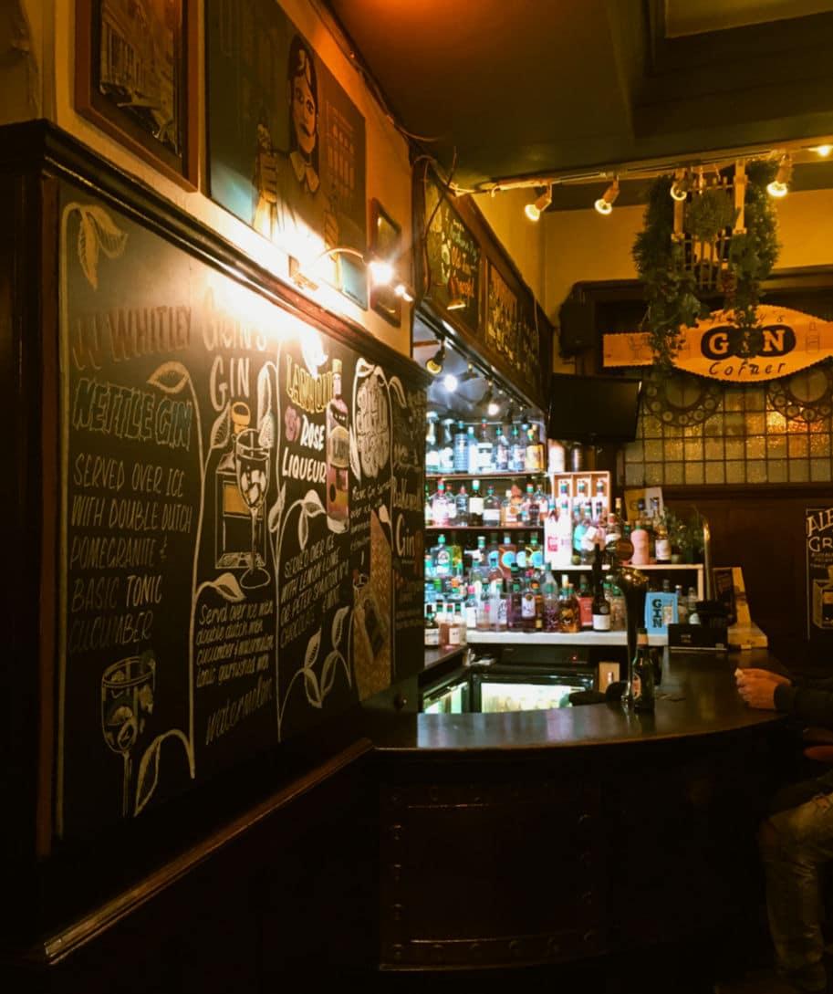 tradicional pub ingles