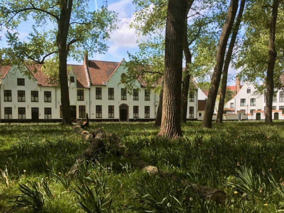 Bruges Belgica: Monasterio das Beguinass