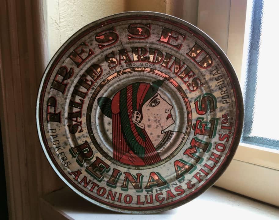 Lata de Sardinha antiga história das conservas