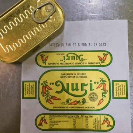 conservas portuguesas lata e embalagem