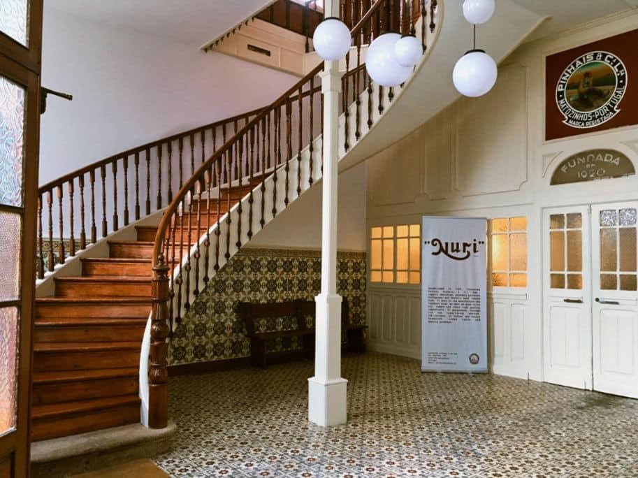 entrada da fabrica pinhais conserveira