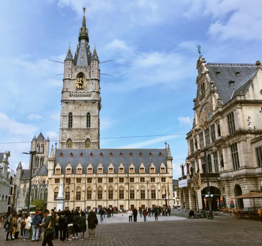 Gent Belgica Bellfry Torre do Sino