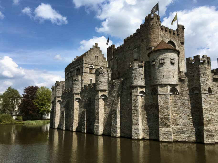 castelo dos condes Gravensteen Gent Belgica