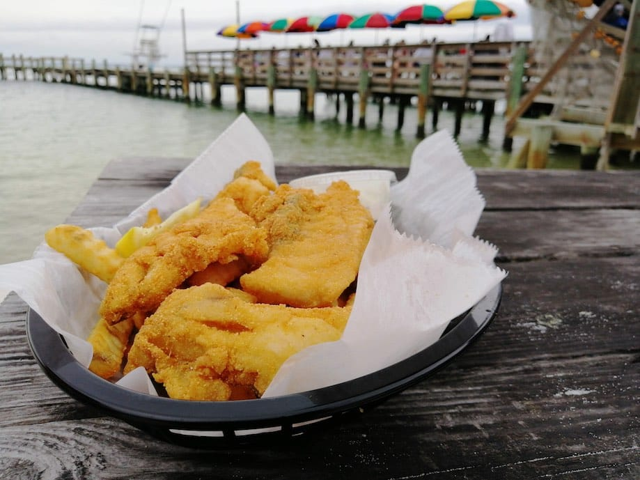 Comida do Sul dos Estados Unidos: peixe frito