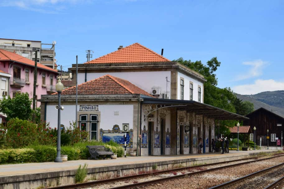 Estacao de Trem de Pinhão no Douro