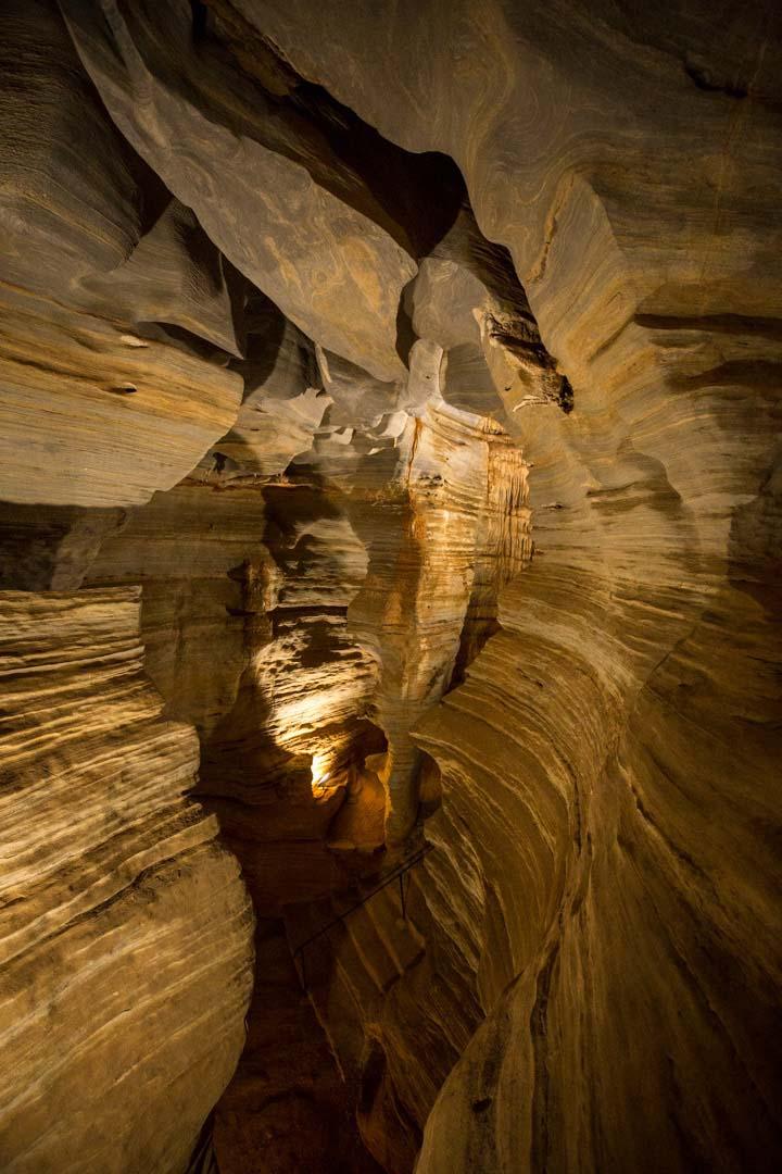 paredões da gruta da lapinha, em Lagoa Santa