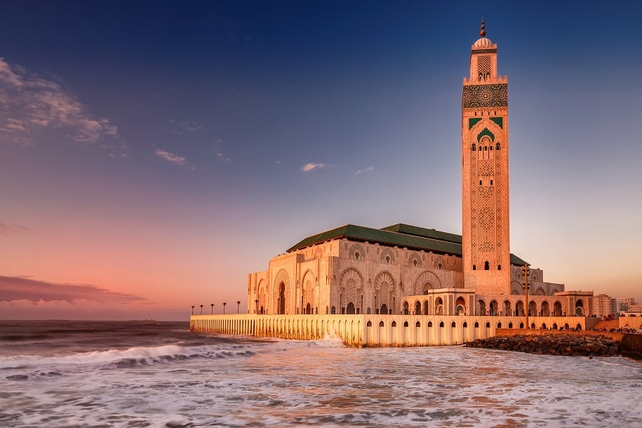 mesquita Hassan em Casablanca