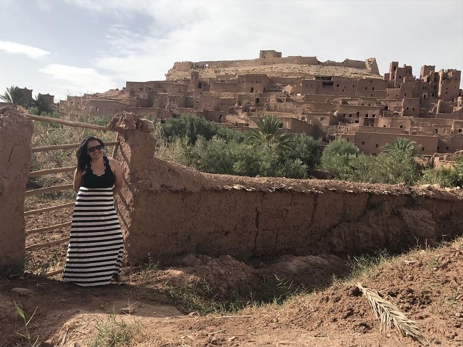 Marrocos deserto passeios Kasbah de Ait Benhaddou