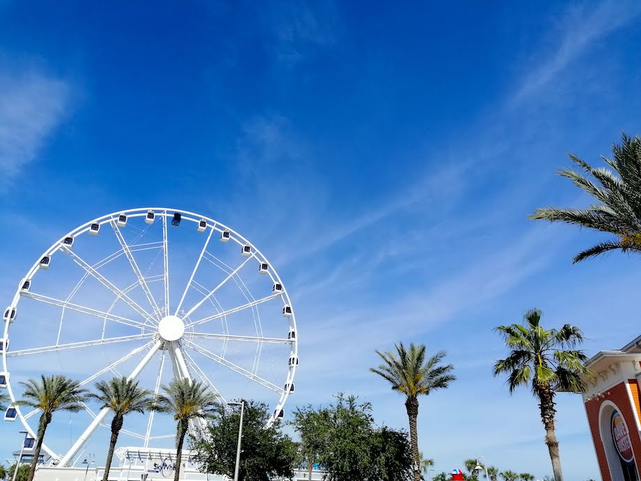 Roda gigante de Panamá City Beach