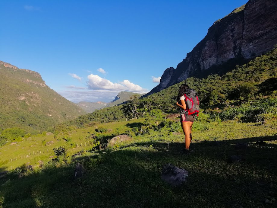Final da trilha do Vale do Pati - Chapada Diamantina