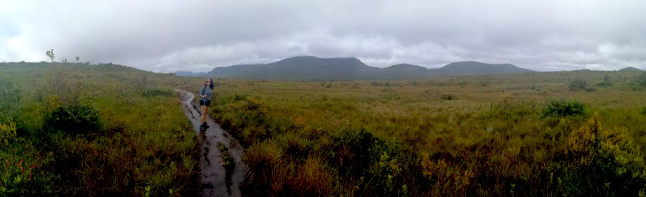 Vista panoramica de campo no Vale do Pati