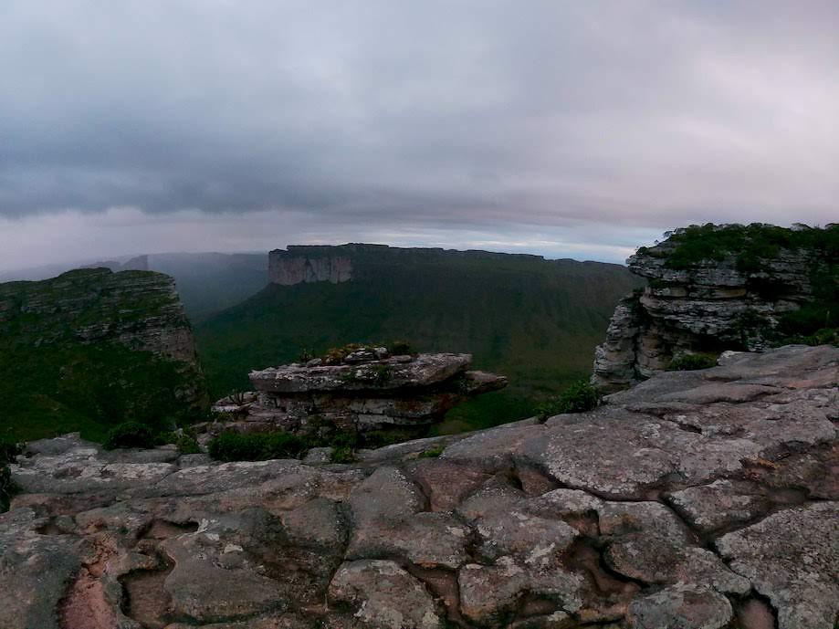Morro do Pai Inácio em dia de Neblina