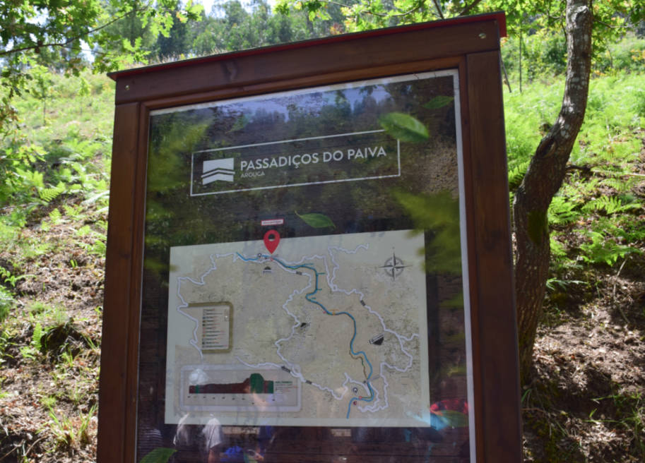 passadicos do paiva mapa