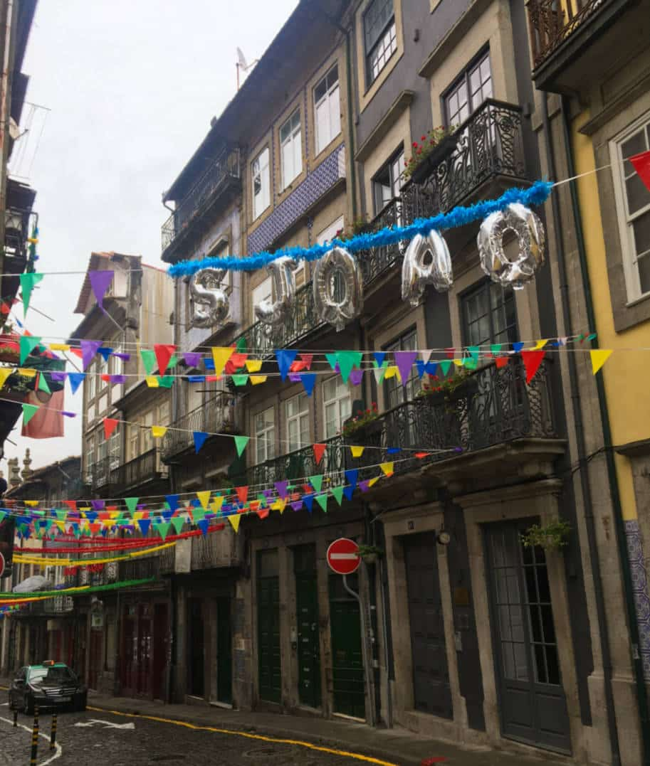 bandeirolas de sao joao no porto