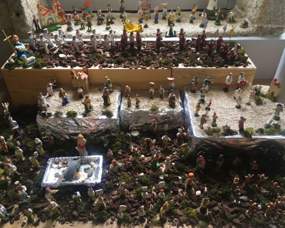 cascata na festa de sao joao porto
