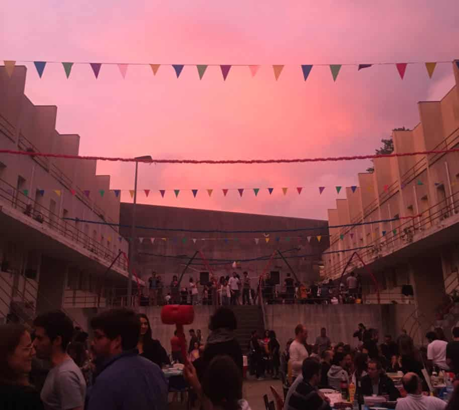 festa do bairro bailarico sao joao porto