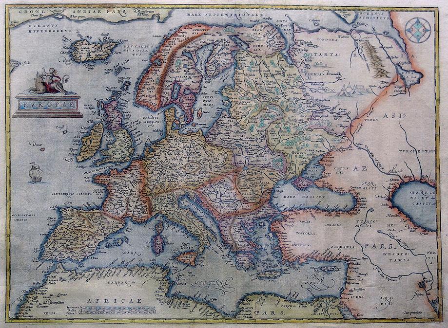 Mapa Europa Ilha Brazil