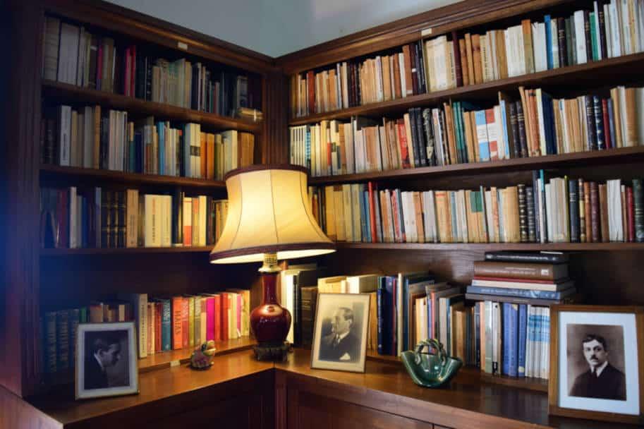 biblioteca fundacao eca de queiroz