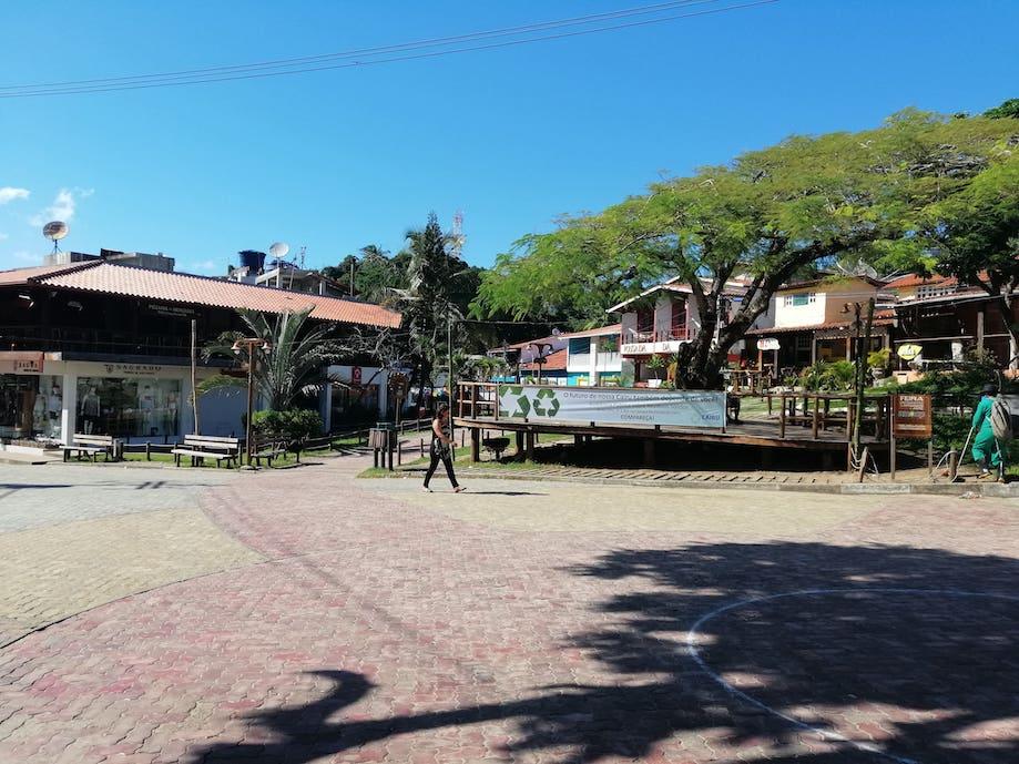 Centro de Morro de São Paulo