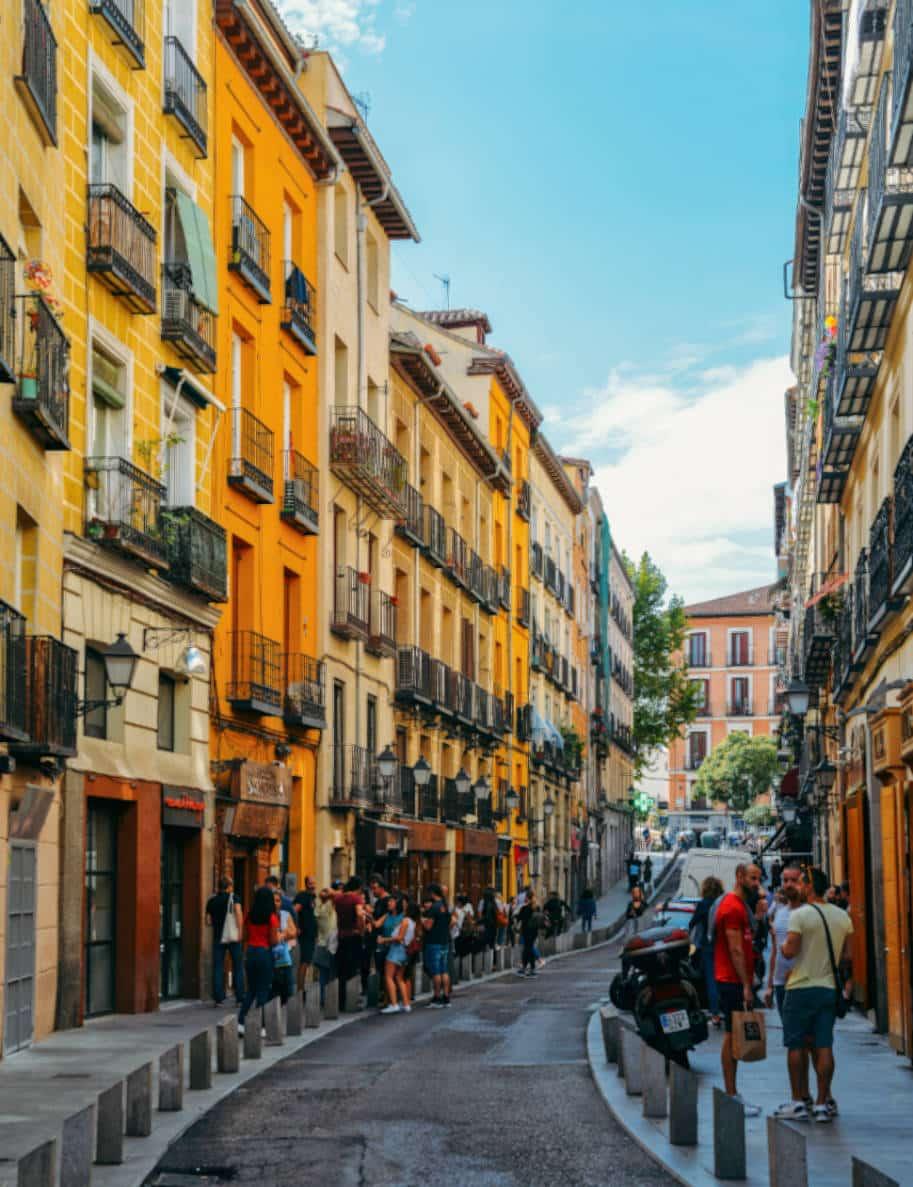 Bairro La Latina Onde ficar em Madri Espanha