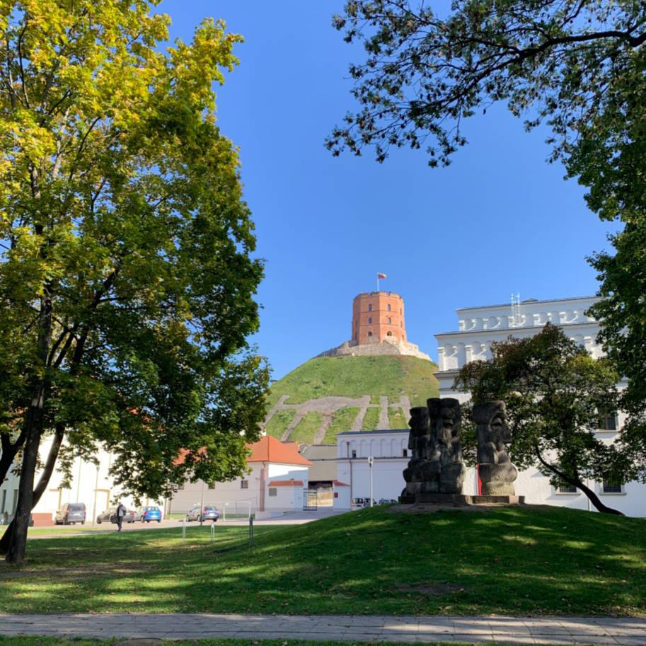 Castelo Gemininas e Palacio dos Duques vilnius lituania