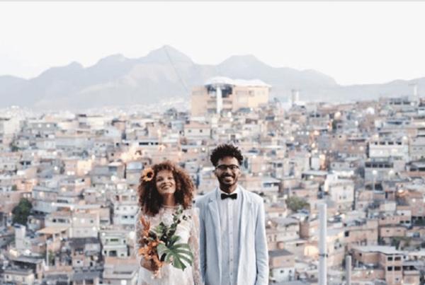 casamento morro favelados pelo mundo