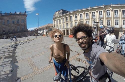 casal bicicleta favelados pelo mundo