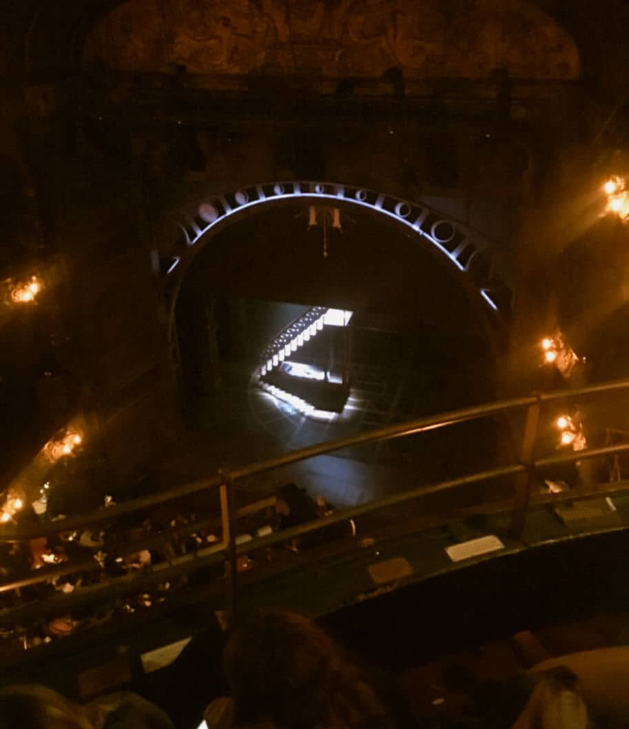 lugar C7 balcony teatro harry potter londres