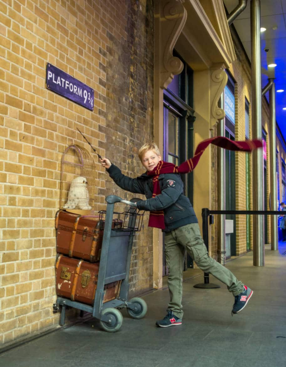 plataforma 912 harry potter kings cross londres