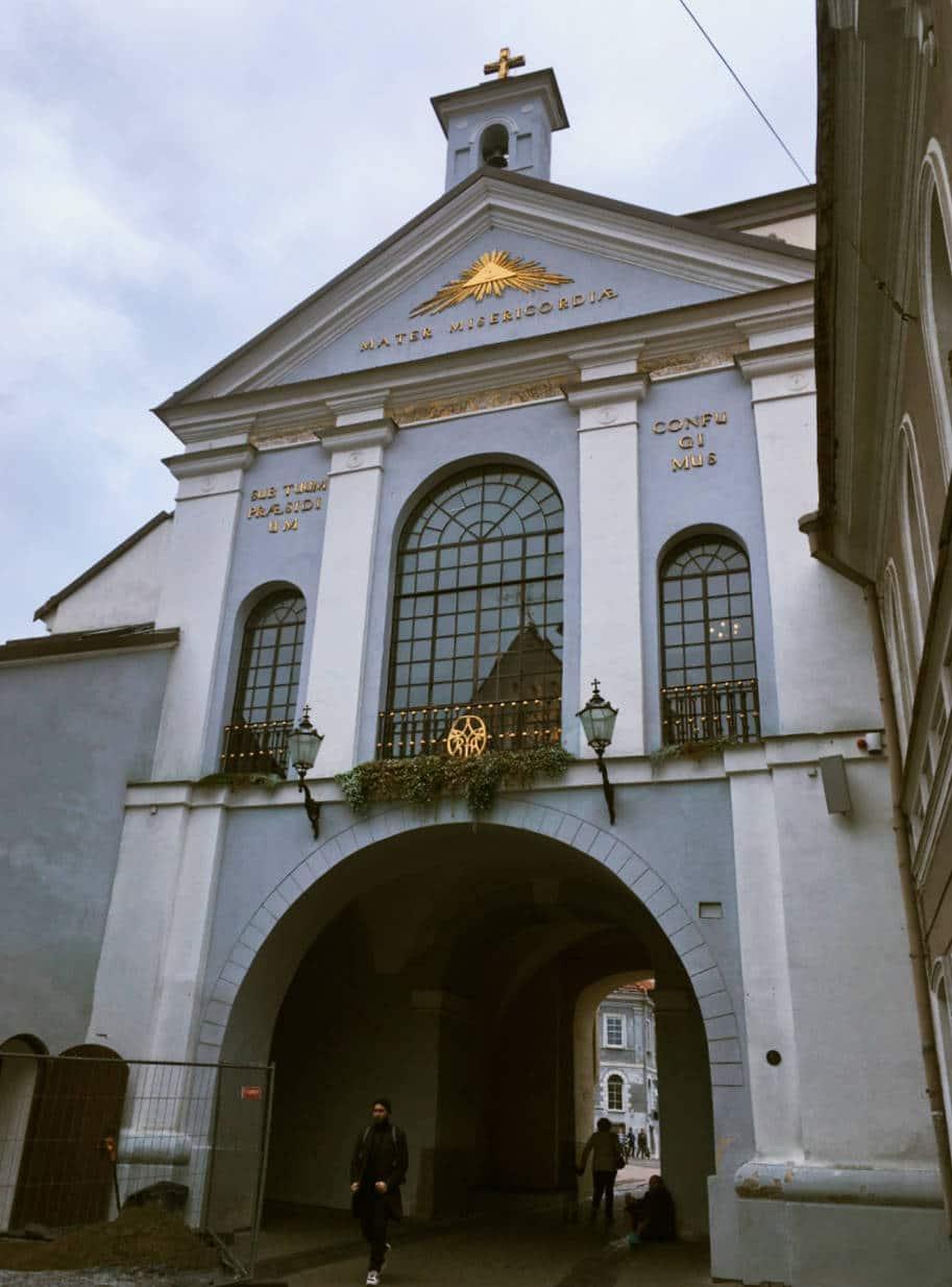 portao da alvorada vilnius lituania