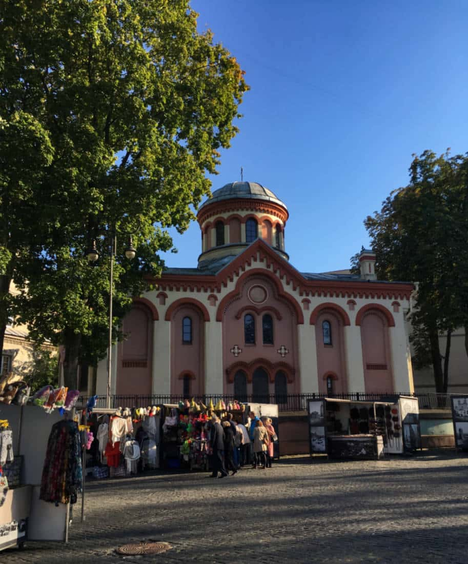 praça em vilnius lituania roteiro pela cidade