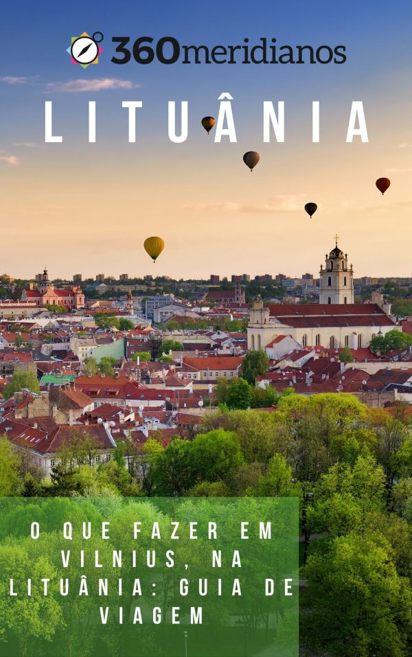 baloes fim de tarde casas vilnius lituania