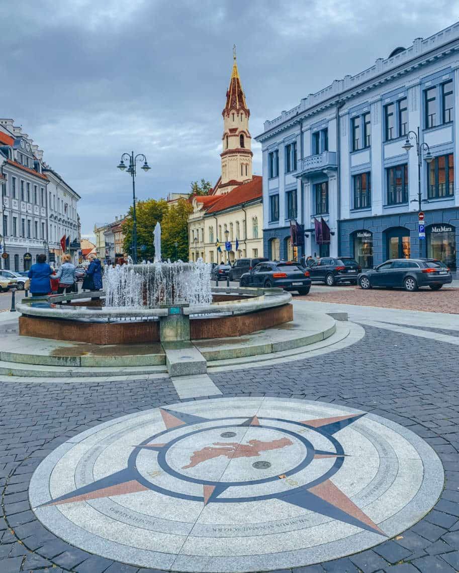 vilnius lituania roteiro pelos balticos