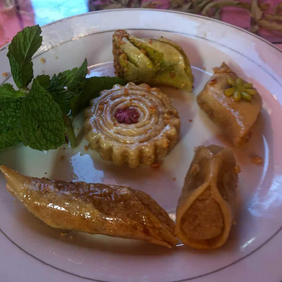 doces tipicos do marrocos