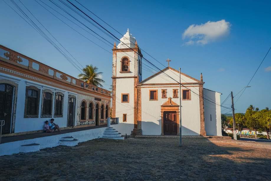 Igreja Histórica em Igarassu