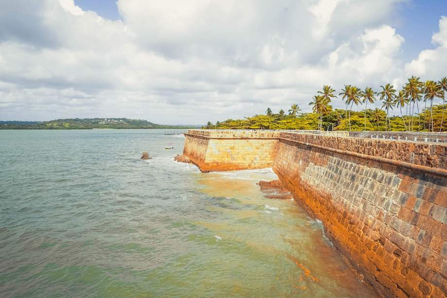 Vista do Fort Orange, Ilha de Itamaracá