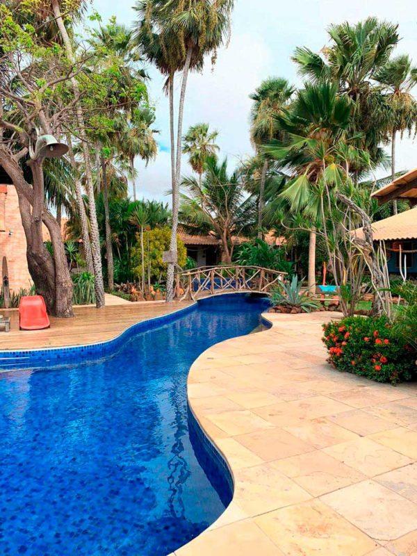 litoral piauí delta do parnaíba piscina hotel
