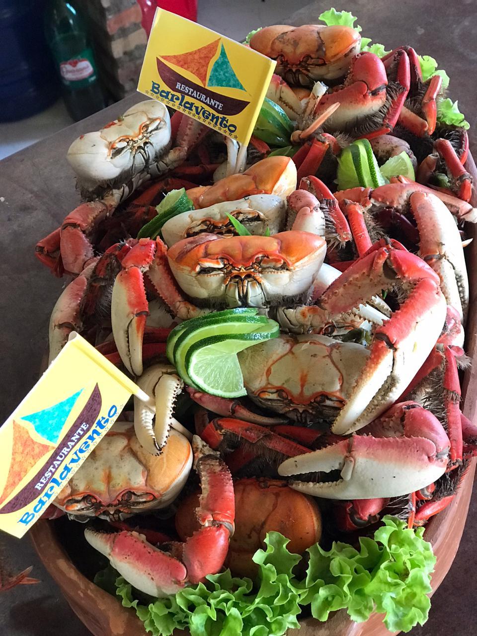 caranguejo almoço delta parnaiba