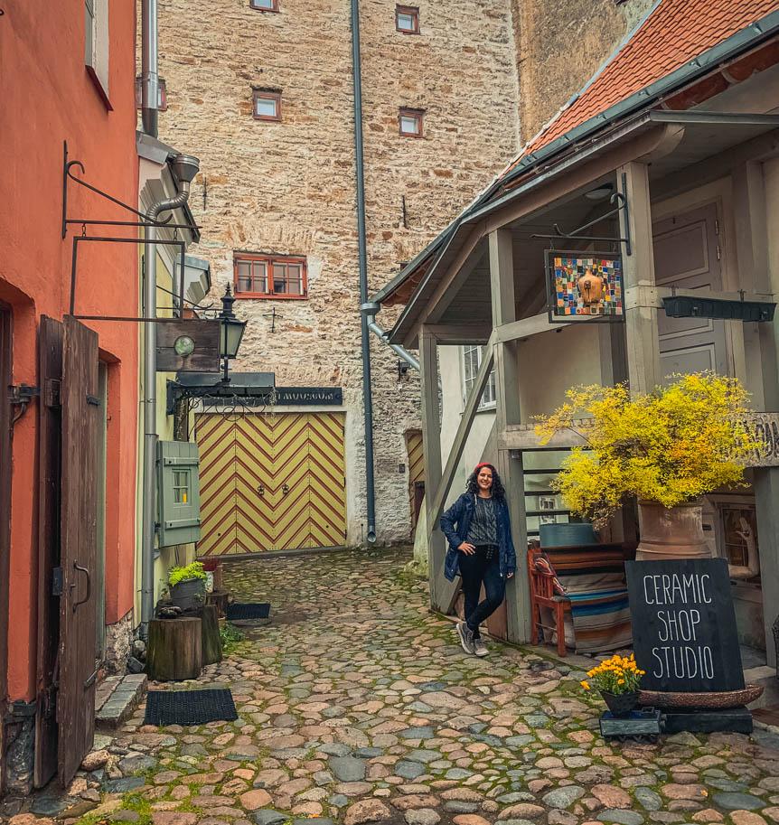 tallinn masters courtyard