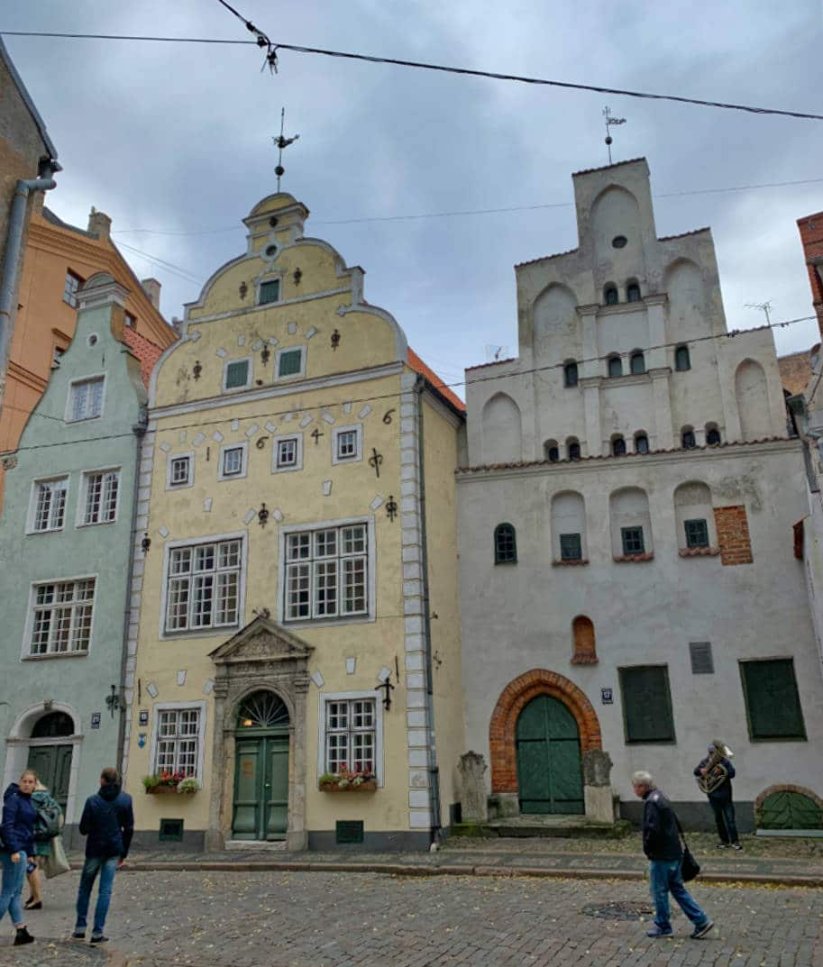 three brothers houses em riga letonia