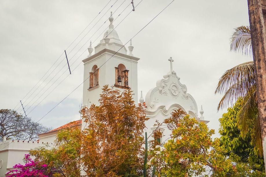 Igreja em Vila Velha, Ilha de Itamaracá