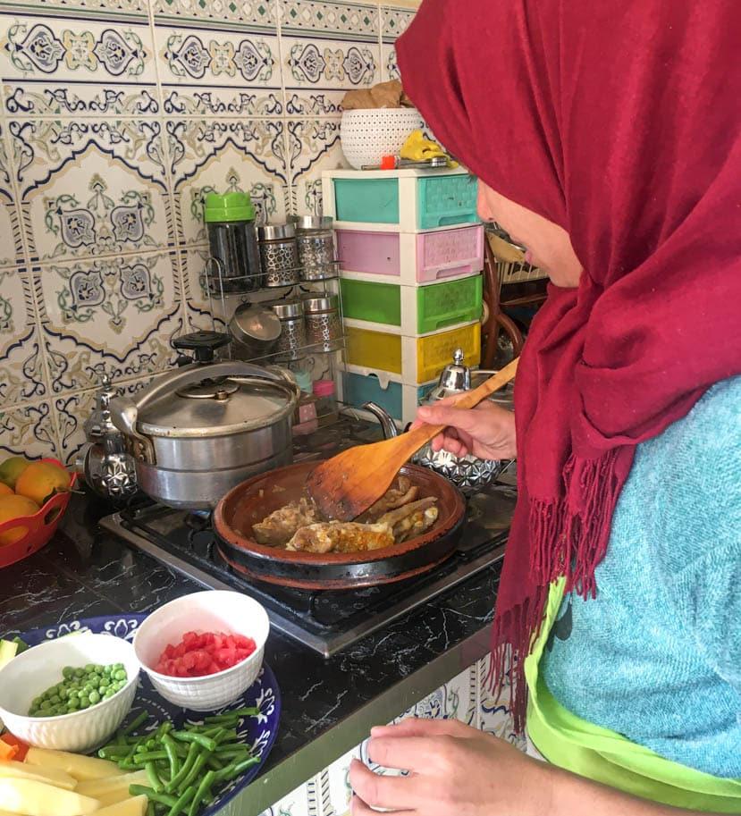 cozinha marroquina aula de culinaria