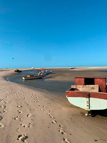 barcos praia piauí