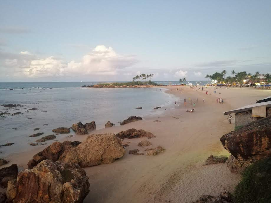 A Segunda Praia é uma das melhores localizações em Morro de São Paulo