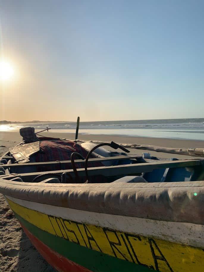 barco praia ceara praia