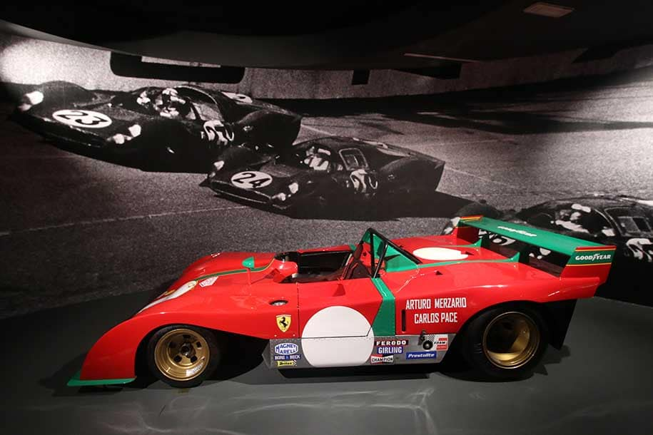 Ferrari de carlos pace